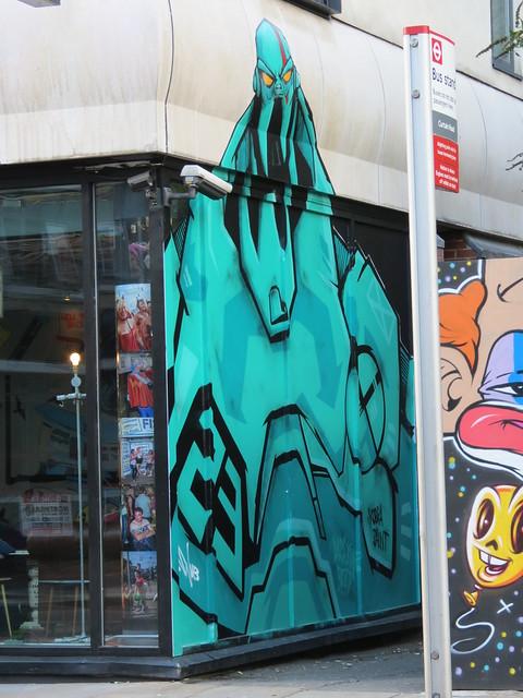 Shoreditch street art - Snub