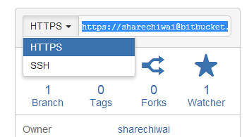 BitBucket HTTPS option