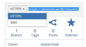 BitBucket HTTPS option