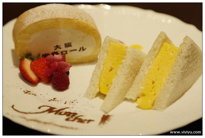 Salon de Mon Cher,大阪,心斎橋,日本,甜點,蛋糕捲,鮮奶油鮮奶 @VIVIYU小世界