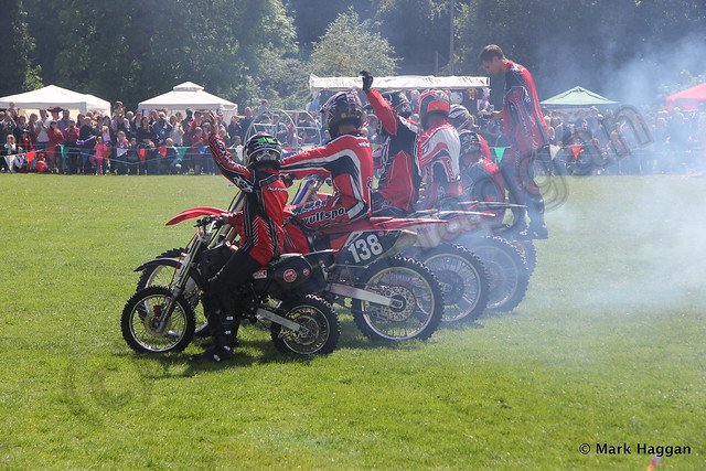 The MSI display team at the 2013 Heart of the Forest Festival
