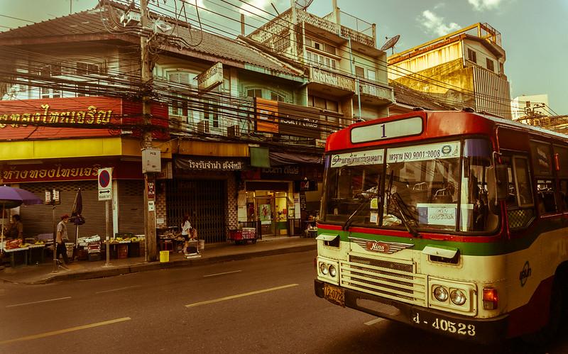 Bus, Bangkok, Thailand