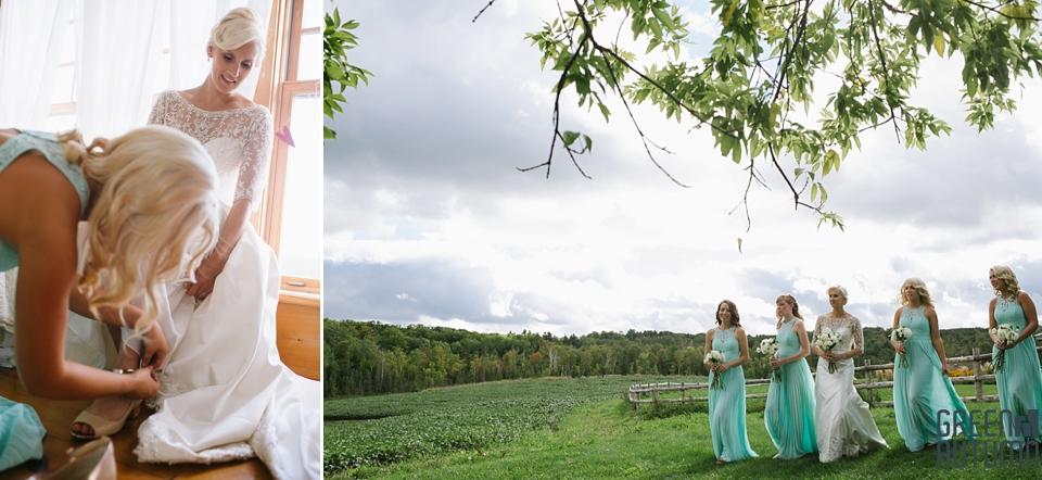 Autumn South Pond Farms Wedding Photography 0028
