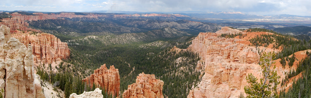 Bryce Canyon National Park from Rainbow Point