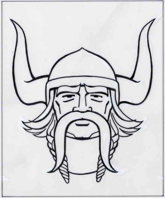 Minnesota Vikings Logo Sketch 02