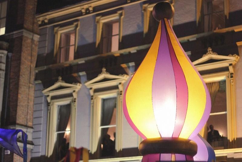 Dublin NYE 2013 Procession of Light