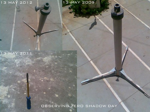 observing zero shadow