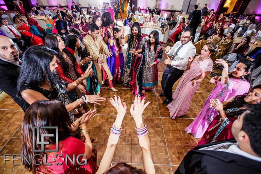Ismaili wedding reception dancing