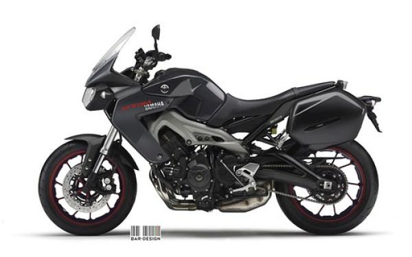 Yamaha MT-DM 850 negra