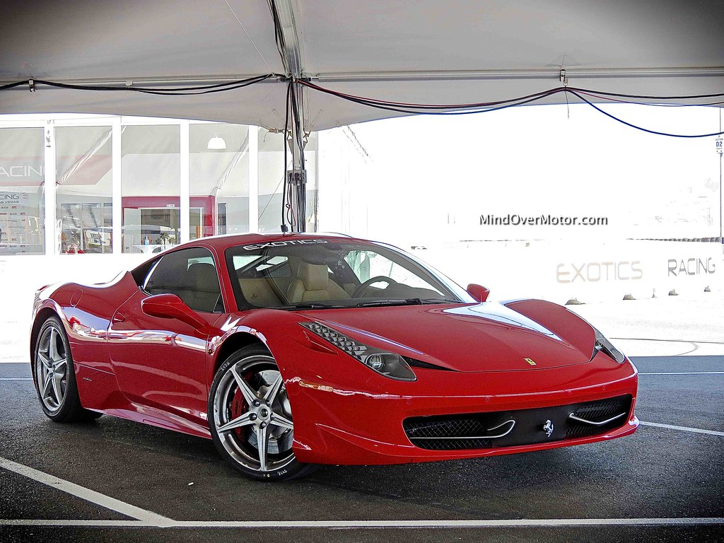 Ferrari 458 Italia at Exotics Racing