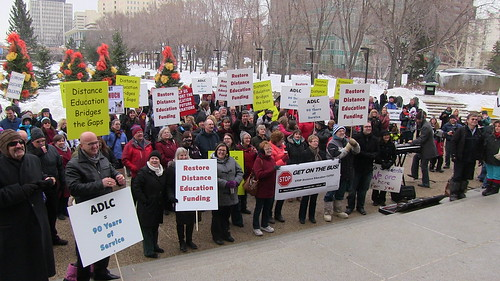 Stop Distance Education Funding Cuts