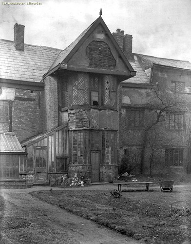 Ordsall Hall, Salford,c.1900