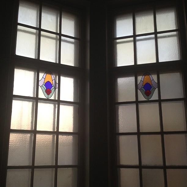 Trappuppgången  #tiffany #window
