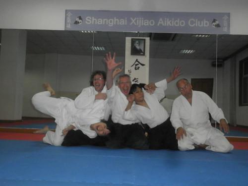 At Xijiao Aikido club - fun