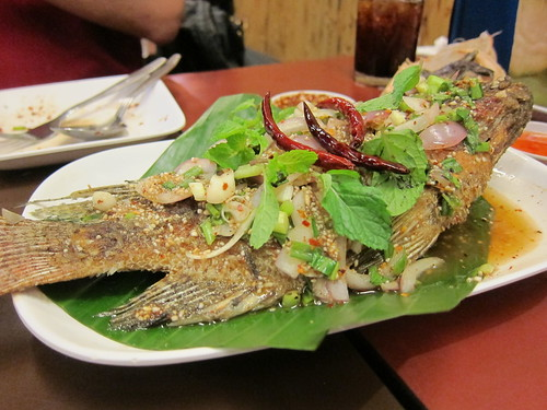 Fried Fish@Som Tam