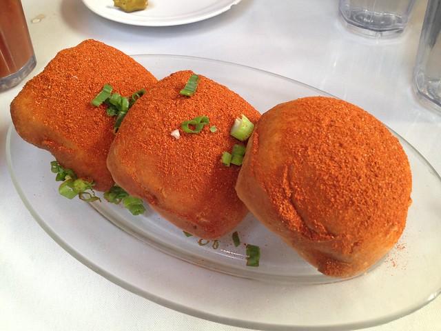 Crawfish beignets - Brenda's French Soul Food