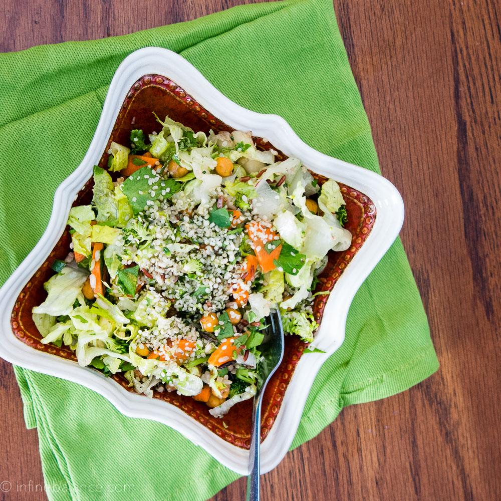 A Detox Salad | infinebalance.com