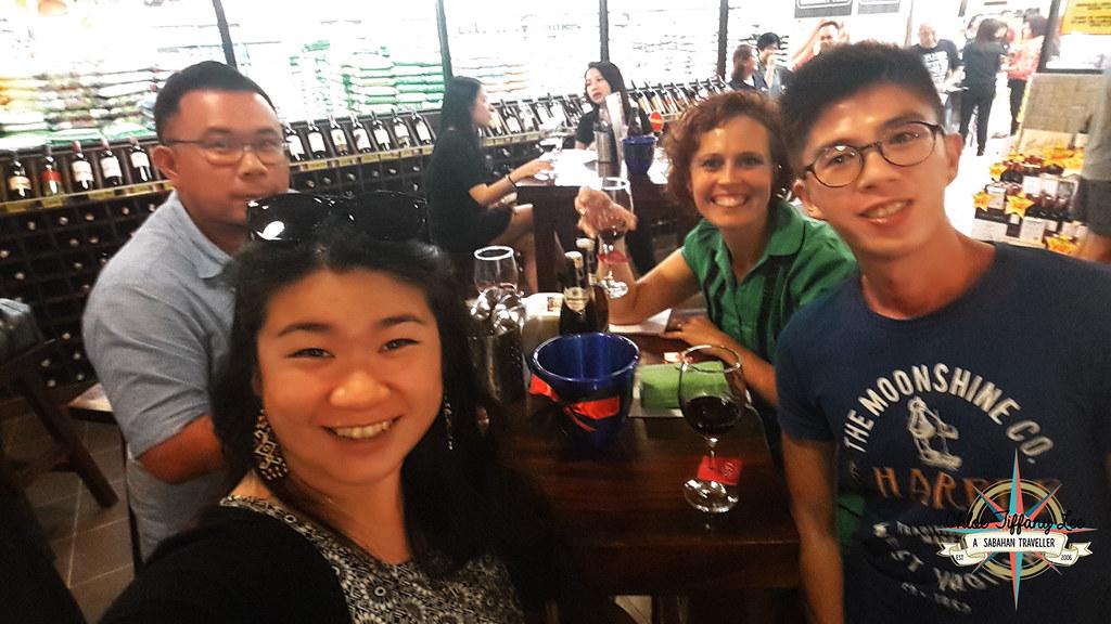Penfolds, Food and Wine Tasting, Australia Ambassador, Patrick Dowling, Giant City Mall, Winecellars, Kota Kinabalu, Sabah, Chloe Tiffany Lee (4)