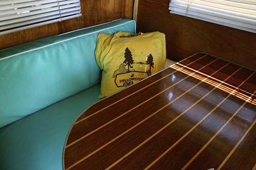 Vintage Yellowstone RV interior. Photo copyright Jen Baker/Liberty Images; all rights reserved.