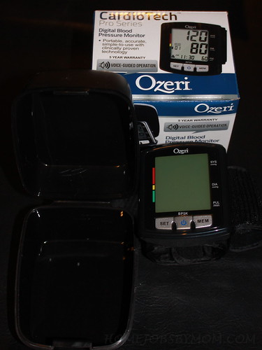 Ozeri CardioTech Pro Series Digital Blood Pressure Monitor