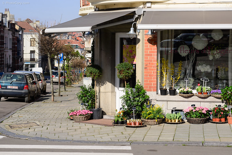flower shop ixelles