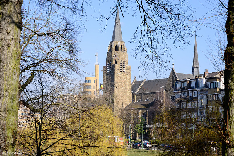church tower flagey ixelles brussels