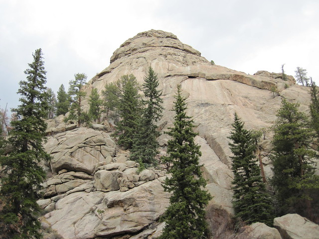 Dome Rock In Eleven Mile Canyon
