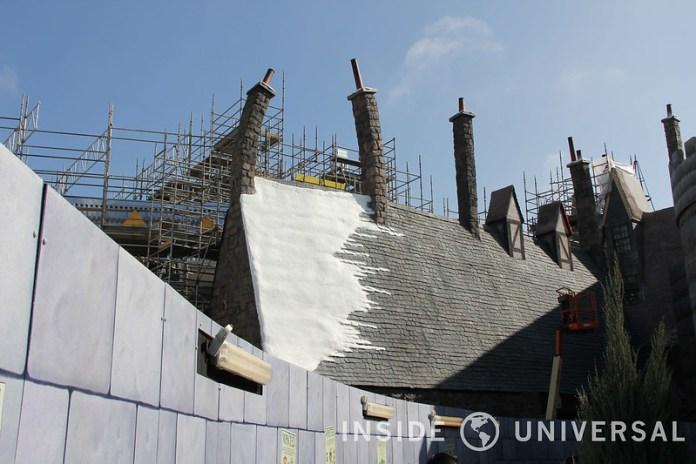 Photo Update: February 8, 2015 - Universal Studios Hollywood - Wizarding World of Harry Potter