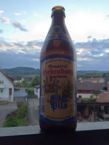 Edel Pils, Brauerei Hebendanz, Forchheim