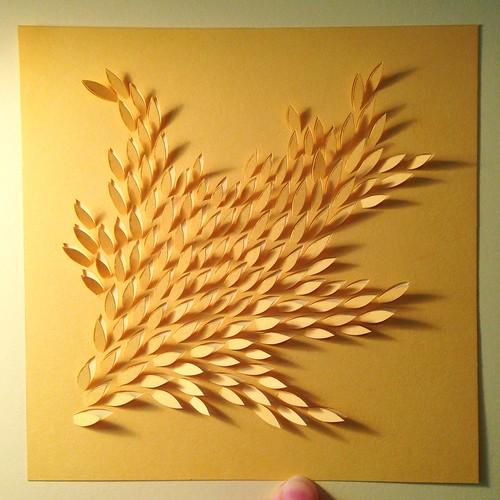 Paper cut commission