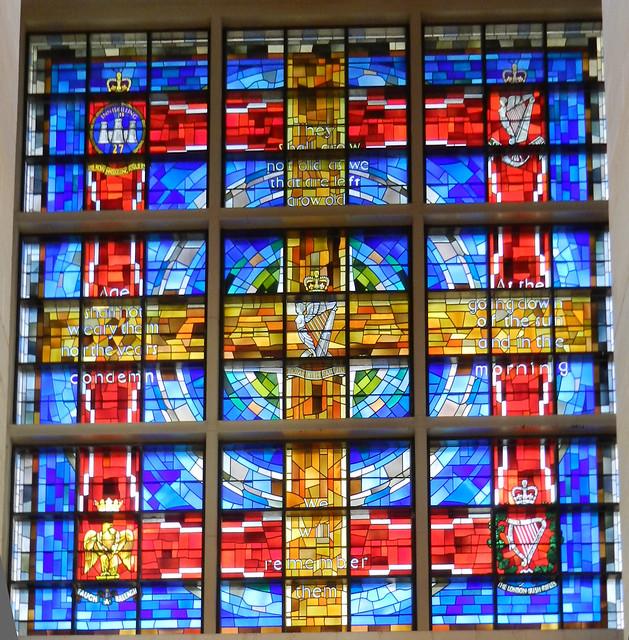 Catedral Santa Ana vidrieras Belfast Ulster Irlanda del Norte 13