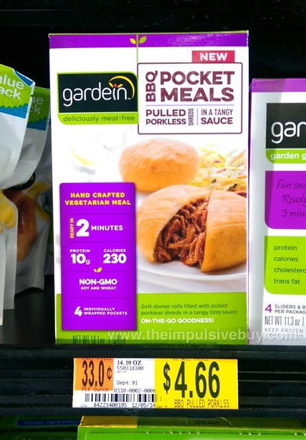 Gardein BBQ Pocket Meals Pulled Porkless Shreds in a Tangy Sauce