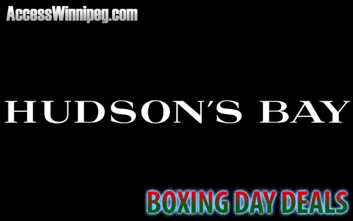 Hudson's Bay Boxing Day Deals 2017
