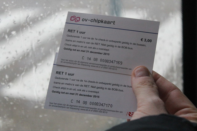 Billetes de autobús