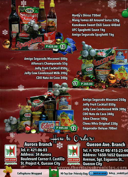 christmas baskets prices