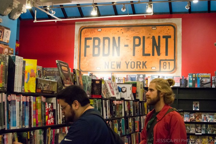 Forbidden Planet Union Square New York