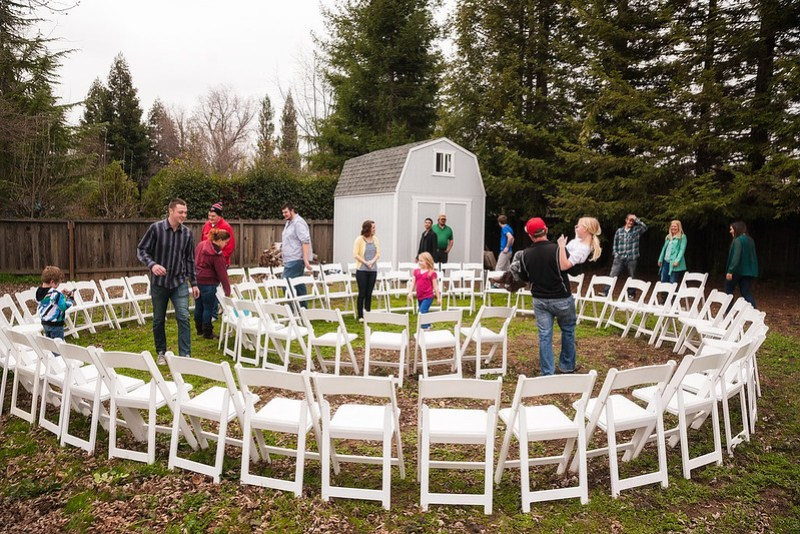 Weddings in the round on @offbeatbride