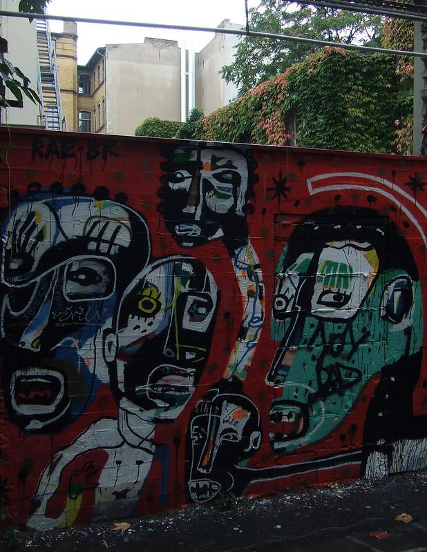wall in Berlin