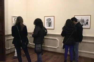 Exposición de Gonzalo Rocha.