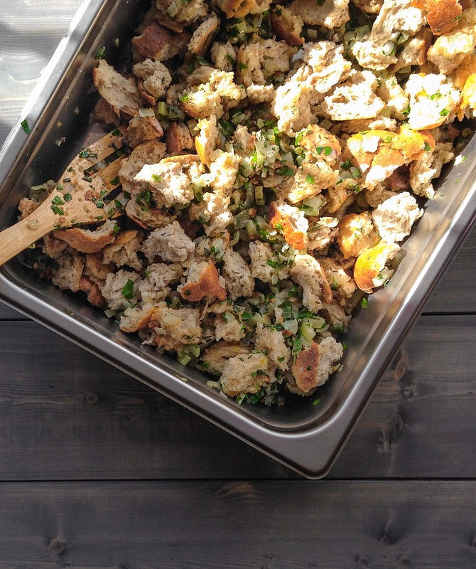 Classic stuffing and a DIY meatless Thanksgiving menu