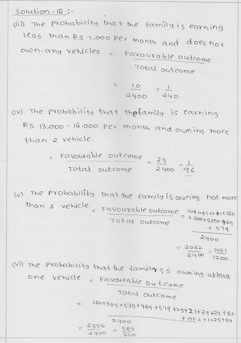RD Sharma Class 9 Solutions Chapter 25 Probability 9