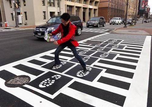 Baltimore Crosswalk