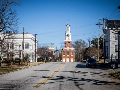 Winnsboro Clock Tower-001