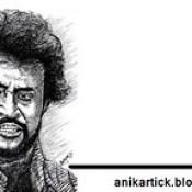 RAJINIKANTH - Superstar of Indian Cinema Industries - Art - Artist ANI,Chennai,TamilNadu,India.