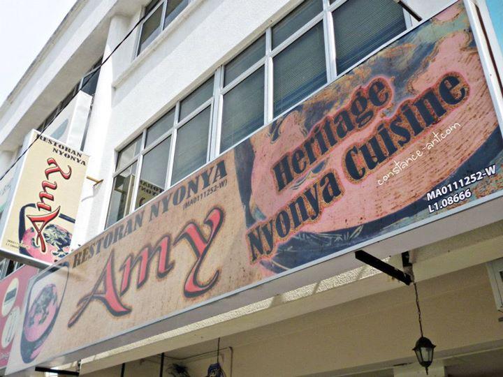 {Malaccaa} Amy Heritage Nyonya Cuisine