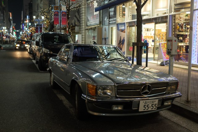 Mercedes Benz 560SL 2014/12/08 X1003205