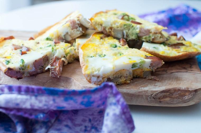 Chicken Sausage, Broccoli and Potato Frittata 1