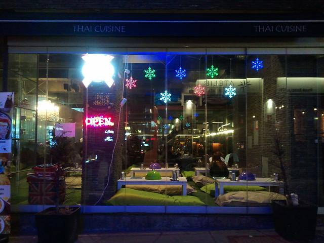 seoul // itaewan // glamping restaurant