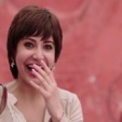 Beautiful Anushka Sharma Laughing In PK 2014 Wallpaper - Stylish HD Wallpapers.