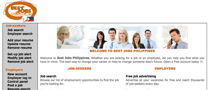 Job Search Websites in the Philippines - Best Jobs Philippines